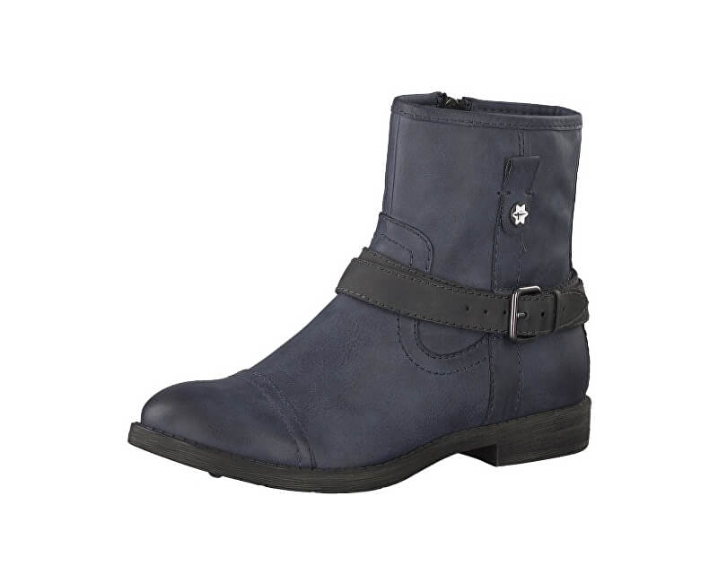ab22b26c89d Tamaris Elegantní dámské kotníkové boty 1-1-25396-29-829 Navy  ...