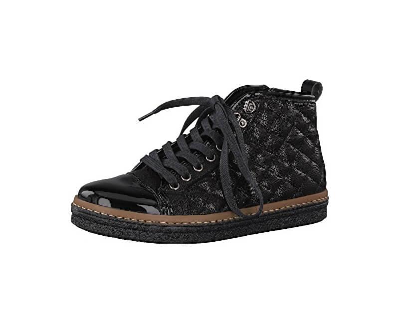 Tamaris Elegantní dámské kotníkové boty 1-1-25725-39-098 Black Comb