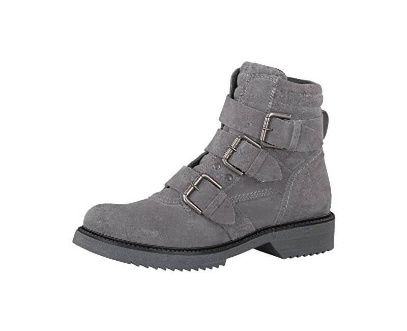 Tamaris Elegantní dámské kotníkové boty 1-1-25919-39-200 Grey