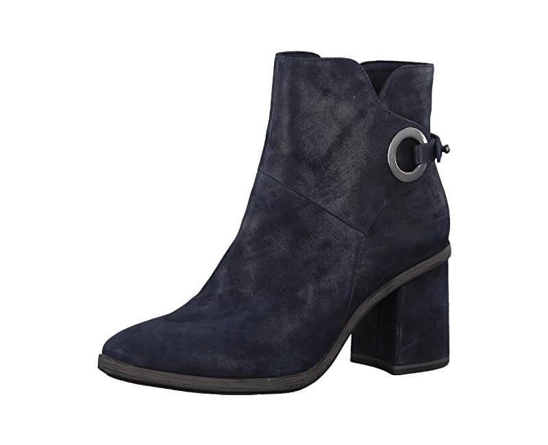 Tamaris Elegantné dámske členkové topánky 1-1-25932-39-805 Navy ... d4893d7deec