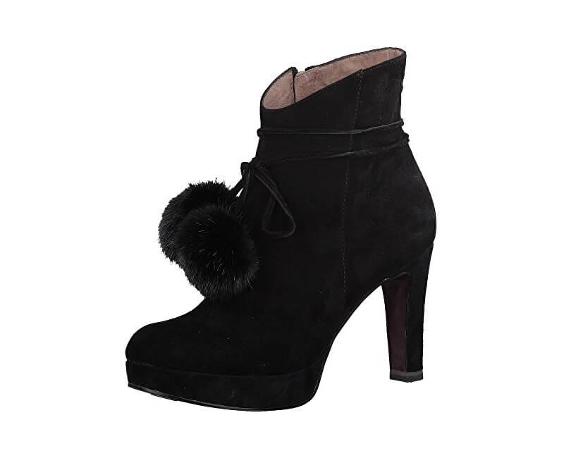 Tamaris Elegantní dámské kotníkové boty 1-1-25948-39-001 Black