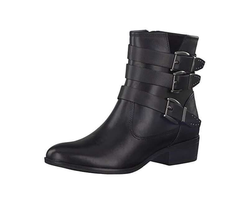 Tamaris Elegantní dámské kotníkové boty 1-1-25952-39-001 Black