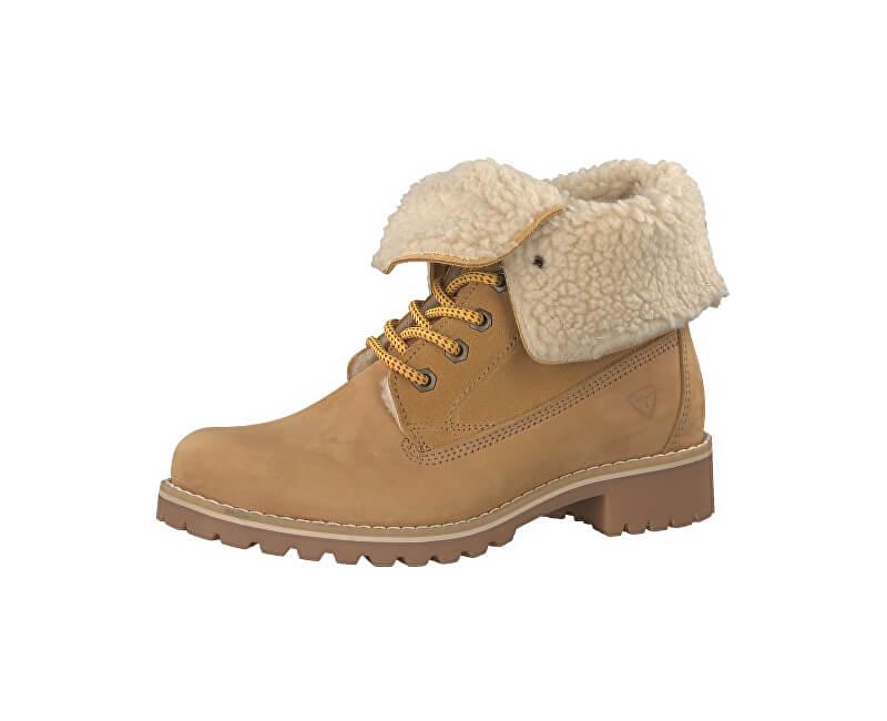 Tamaris Elegantné dámske členkové topánky 1-1-26443-29-610 Corn ... cf37c489f8b