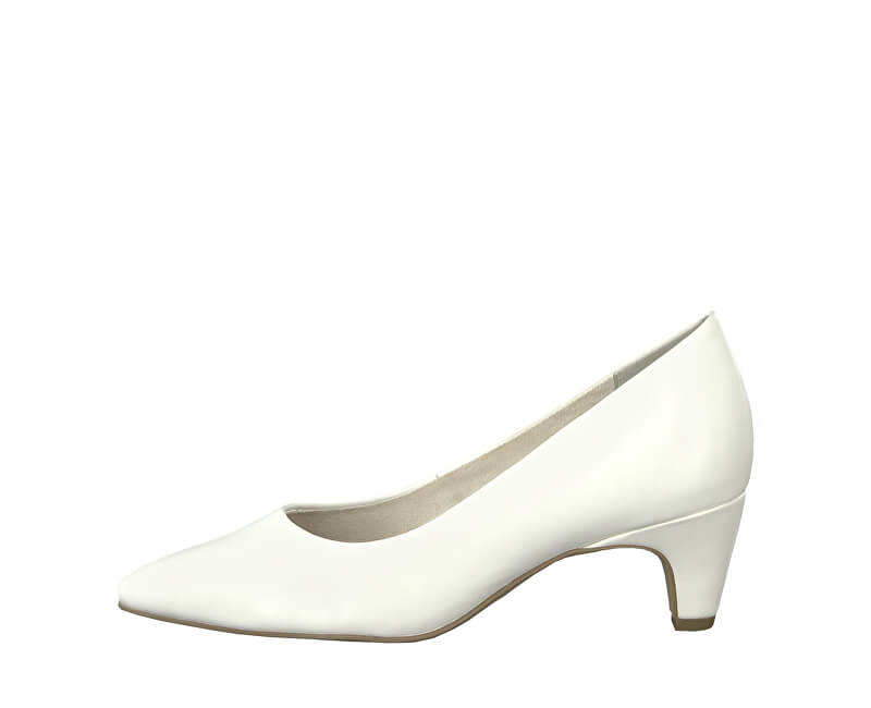 Tamaris Elegantne dámske lodičky 1-1-22428-22-108 White Matt