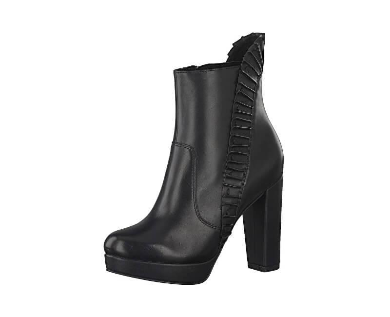 Tamaris Elegantní dámské nízké kozačky 1-1-25301-29-001 Black
