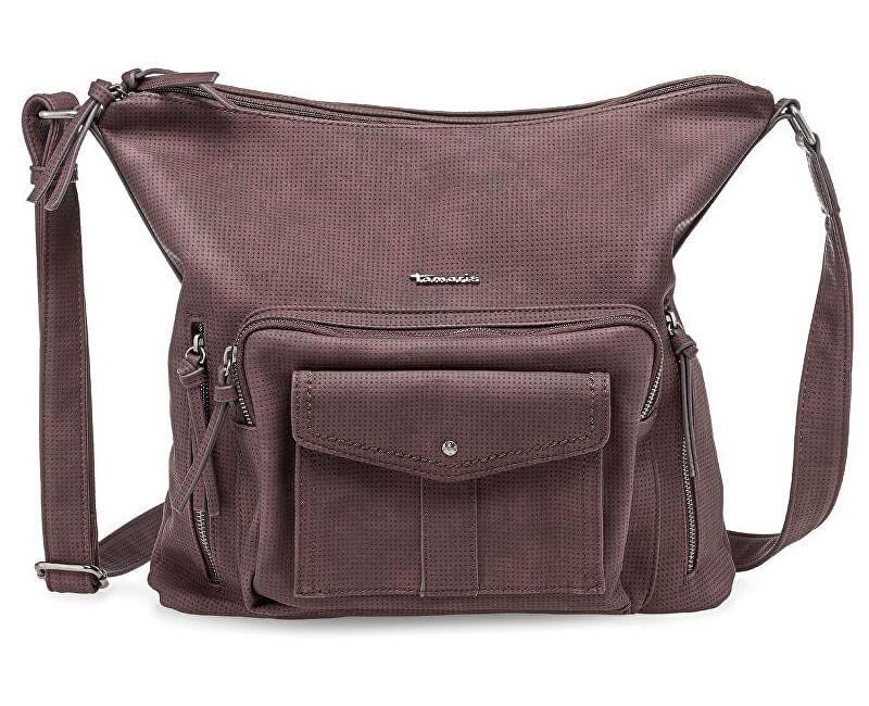 Tamaris Elegantní kabelka Adriana Hobo Bag L 2358172-630 Vino
