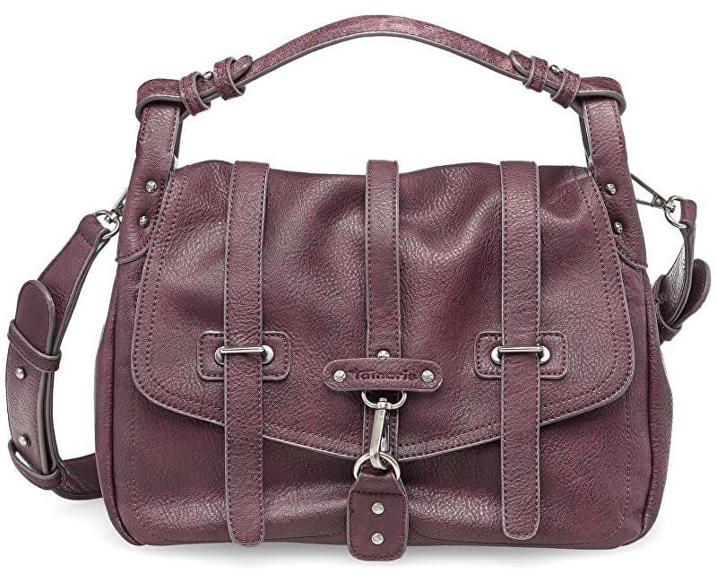 Tamaris Elegantní kabelka Bernadette Satchel Bag 2255172-630 Vino