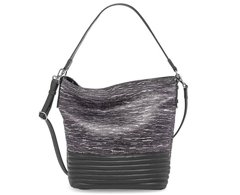 Tamaris Elegantní kabelka Carla Hobo Bag 2263172-292 Graphite comb