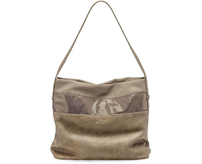 Tamaris Elegantní kabelka Khema Hobo Bag 2350172-394 Brown comb