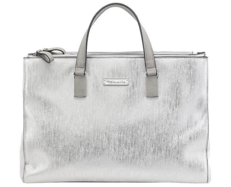 c023d98474 Tamaris Elegantní kabelka Nadine Business Bag 2596181-919 Silver Comb.