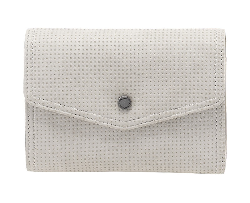 Tamaris Elegantní peněženka Adriana Small Wallet with Flap 7073181-204 Light Grey