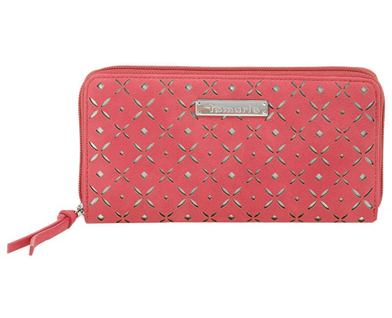 Tamaris Elegantní peněženka Beate Big Zip Around Wallet 7087181-563 Coral