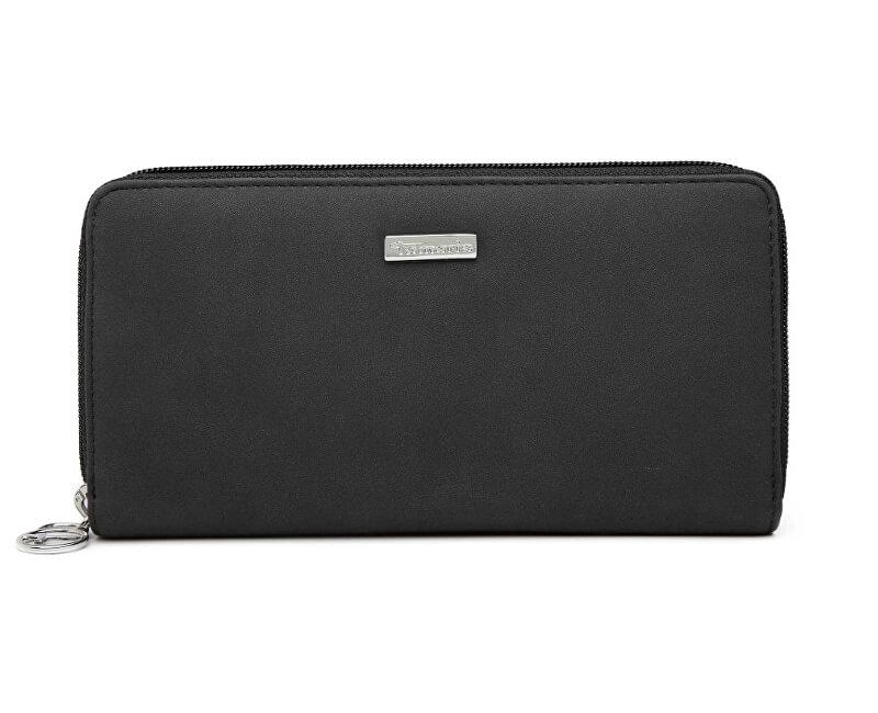 Tamaris Elegantní peněženka Elsa Big Zip Around Wallet 7180191-098 Black Comb.