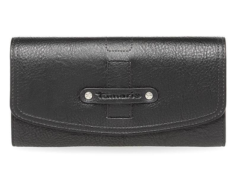 Tamaris Elegantní peněženka Tara Big Wallet with Flap 7923172-001 Black