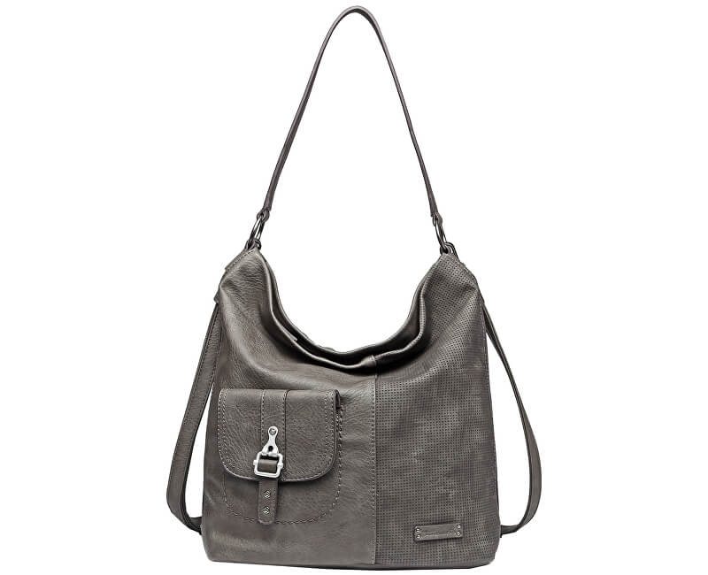 Tamaris Kabelka Alberta Hobo Bag L 3162192-295 Grey Comb.
