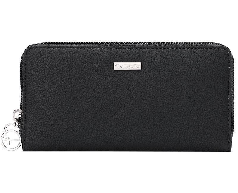 Tamaris Peňaženka Debra Big Zip Around Wallet 7187192-001 Black
