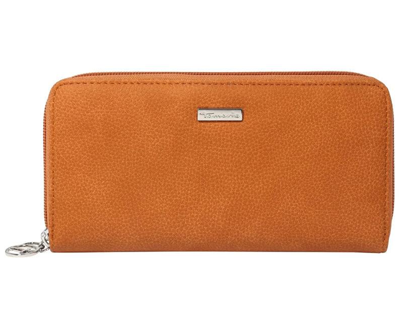 Tamaris Peňaženka Debra Big Zip Around Wallet 7187192-305 Cognac