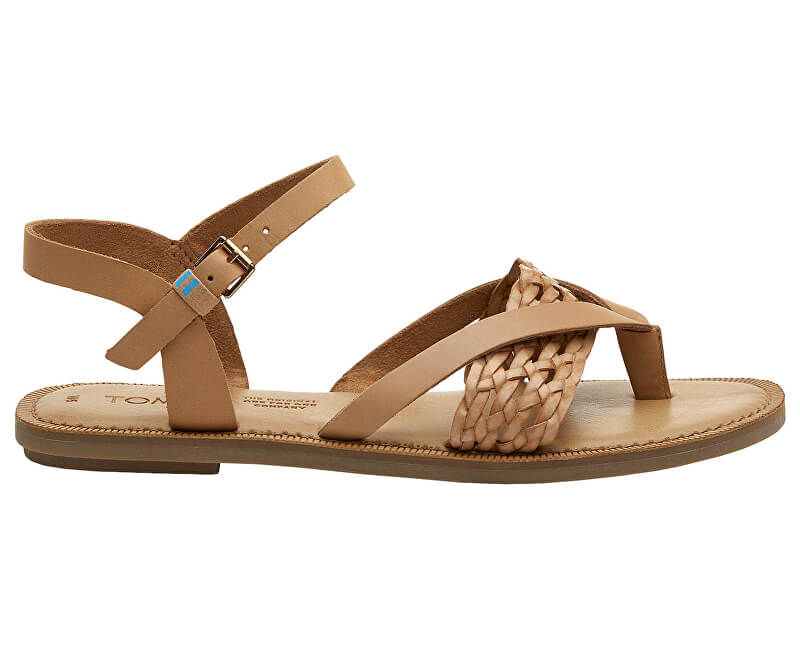 abb8908f90cc6 TOMS Dámske sandále Honey Leather/Synthetic Braid Lexie | Vivantis ...
