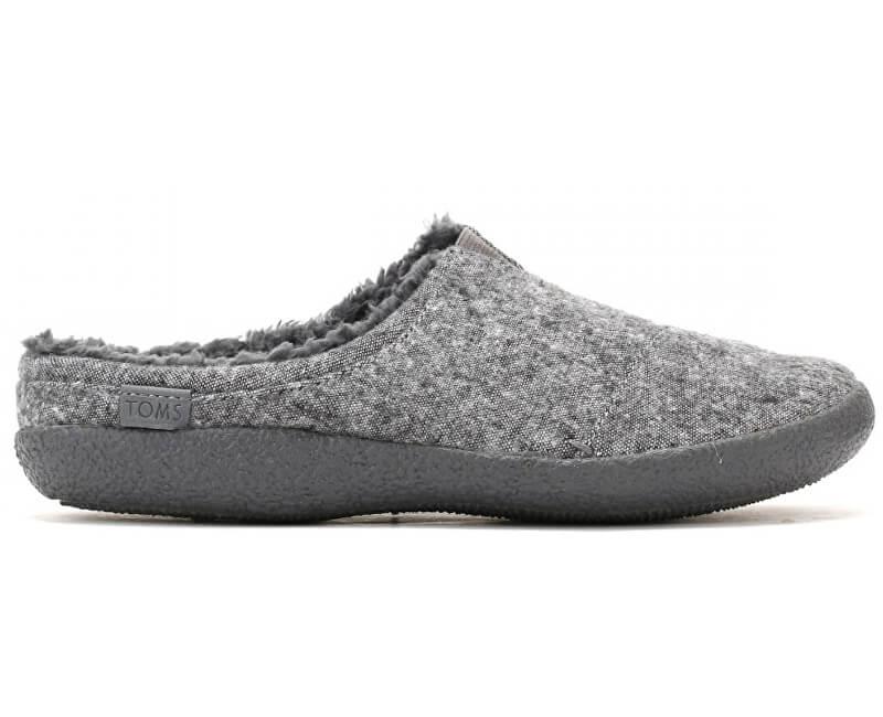 TOMS Pánské šedé pantofle Grey Slub Berkeley
