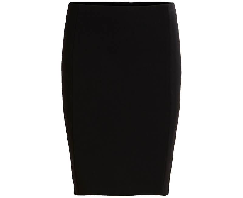 Vila Dámská sukně Viasmin Skirt-Noos Black
