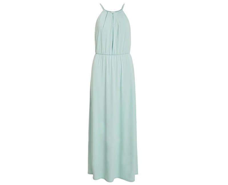 Vila Dámske šaty Vitaini S/L Maxi Dress/Dc Blue Haze