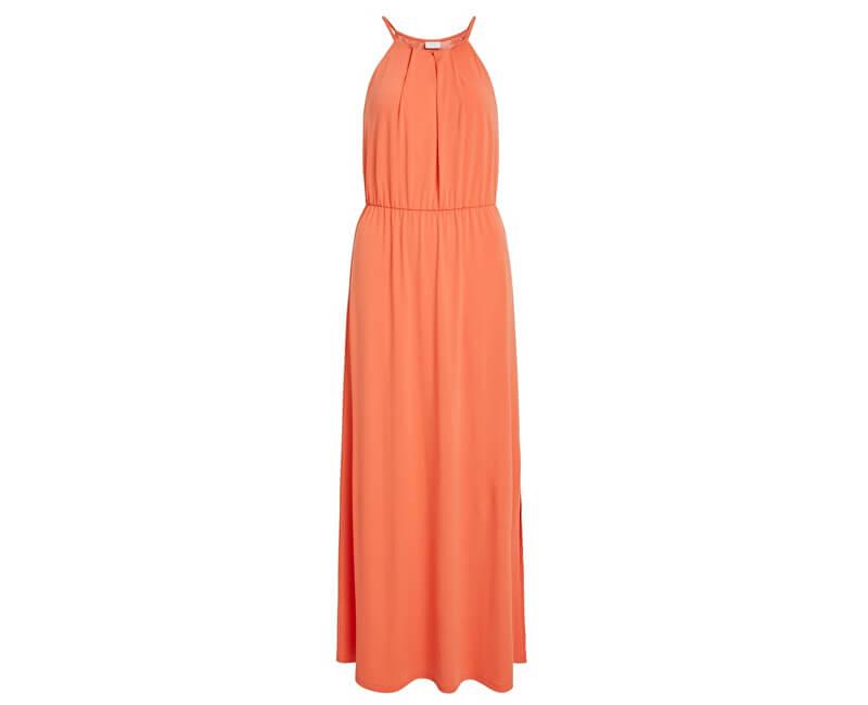 Vila Dámske šaty Vitaini S/L Maxi Dress/Dc Emberglow