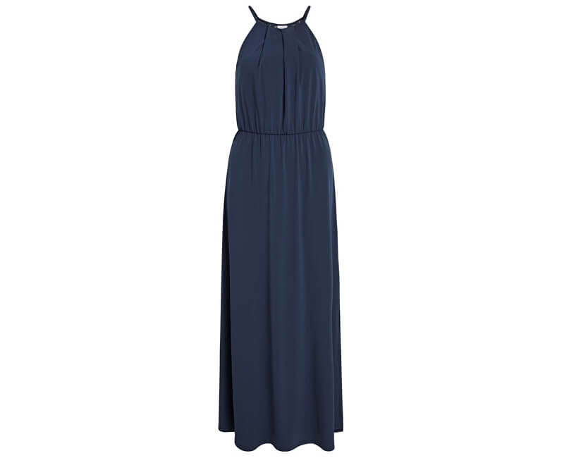 Vila Dámske šaty Vitaini S/L Maxi Dress/Dc Navy Blazer