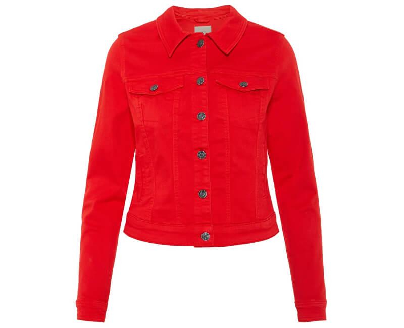 2ddfdc3d4283 Vero Moda Dámská bunda Hot Soya Ls Jacket Color Fiery Red ...