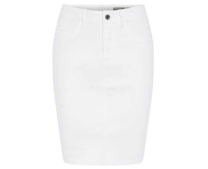 9a4095f5ffc1 Vero Moda Dámská sukně Hot Nine Hw Dnm Pencil Skirt Mix Noos Bright White