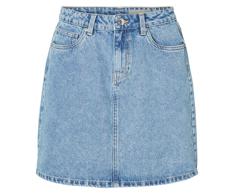 Vero Moda Dámska sukňa Kathy Hr Short Denim Skirt Mix Light Blue Denim
