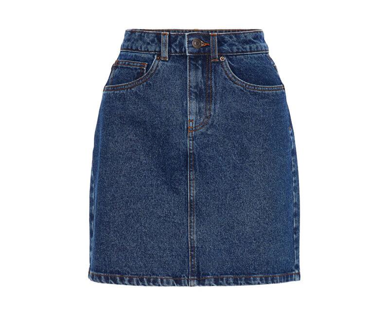 Vero Moda Fusta pentru femei Kathy Hr Fusta Short Denim Mix Medium Blue Denim