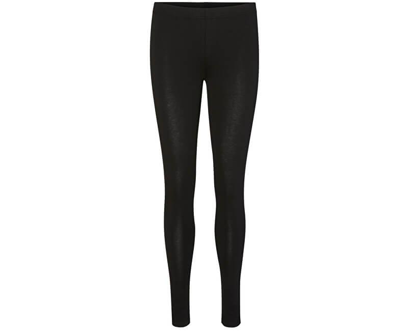 Vero Moda Dámské legíny Maxi My Soft Long Leggings Ga Black