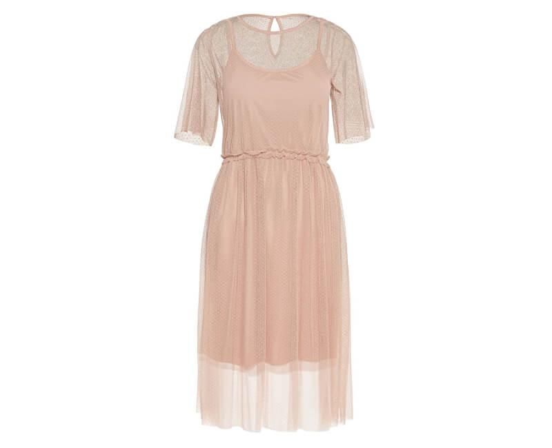 c8991834d13d Vero Moda Dámské šaty Linna 2 4 Blk Dress Jrs Misty Rose
