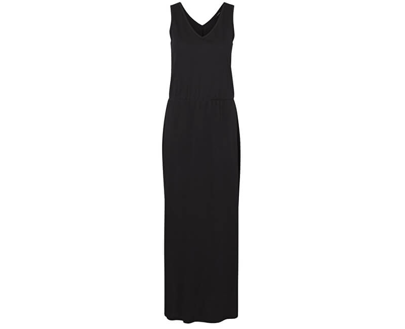 Vero Moda Dámske šaty Rebecca Sl Ankle Dress Jrs Ga Black