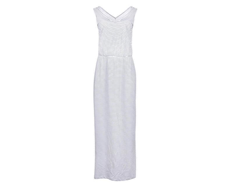Vero Moda Dámske šaty Rebecca Sl Ankle Dress Jrs Ga Snow White
