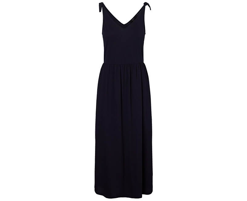 Vero Moda Dámske šaty Rebecca Sl Knot 7/8 Dress Ga Jrs Pl Night Sky