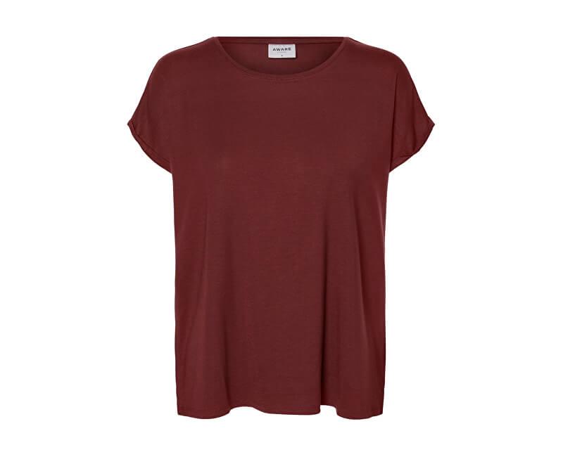 Vero Moda Dámske tričko Ava Plain Ss Top Ga Noos Port Royal