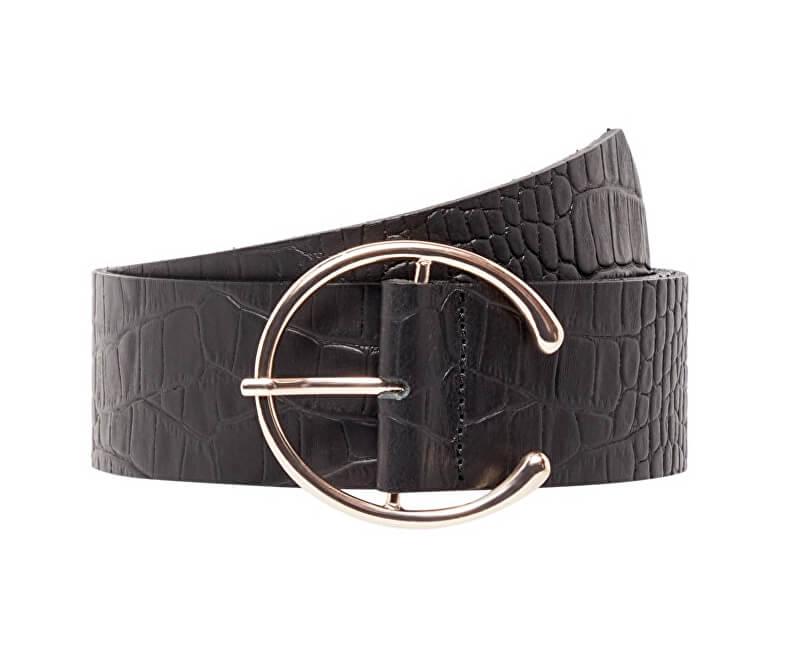 Vero Moda Curea pentru femei Palermo Leather Waist Belt Black
