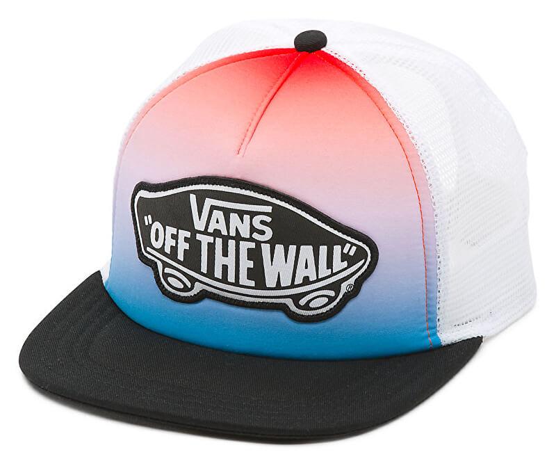 VANS Dámská červeno-modrá kšiltovka Beach Girl Trucker Hat V00H5LLTF ... 6831667708