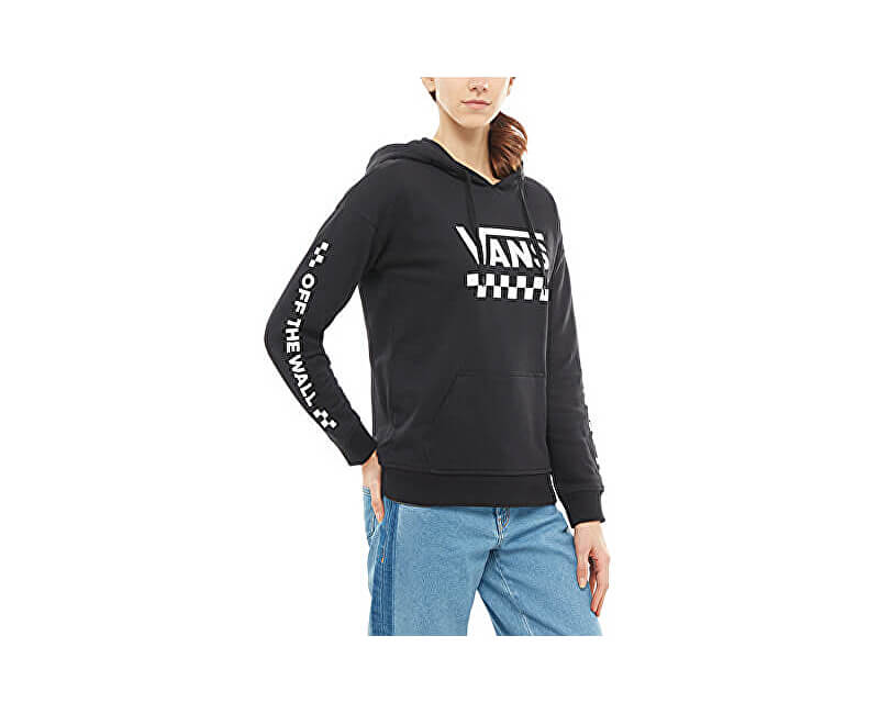 VANS Női pulóver Too Much Fun Hood ie Black VA3PBGBLK Ingyenes ... 3ee262f59e