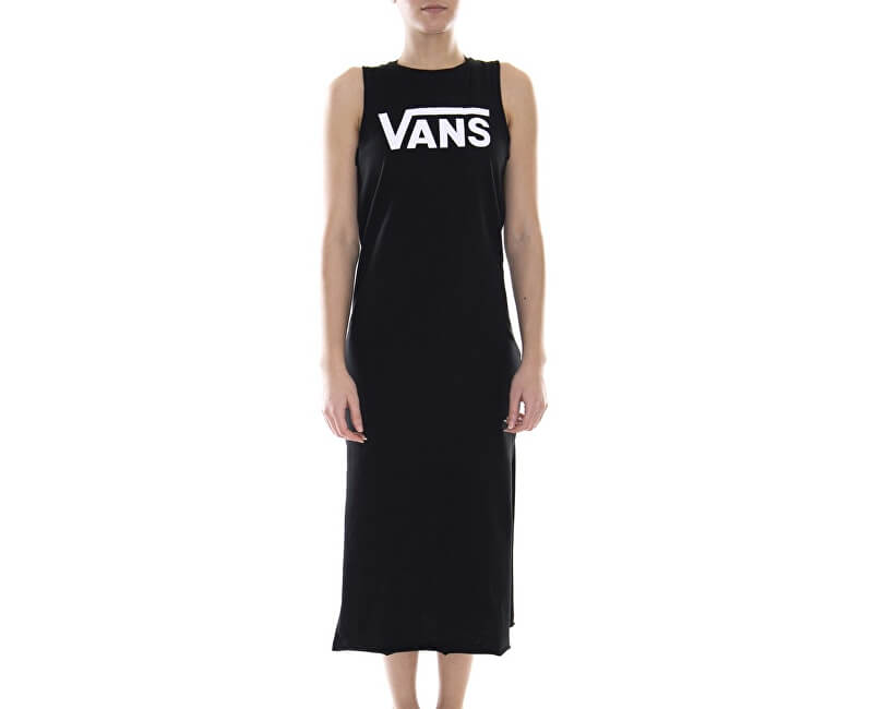 8dd9aa84b9bb VANS Dámske šaty Flying V Midi Dress Black VN0A3Z77BLK1