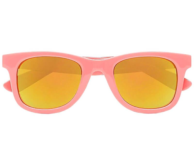 VANS Dámské sluneční brýle Janelle Hipster Sunglasses Strawberry Pink VN000VXLUV61