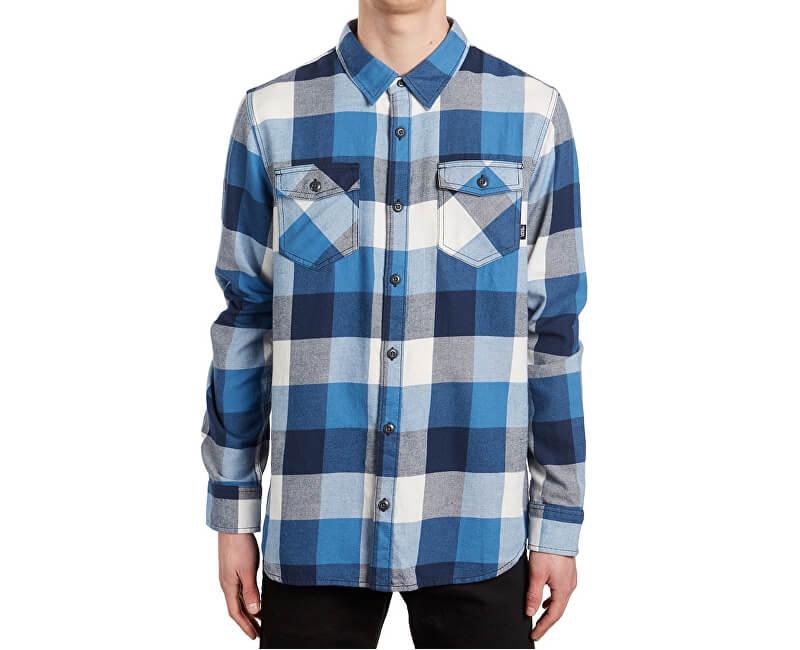 VANS Pánská košile Box Flannel Delft/Marshmallow V00JOGO6A
