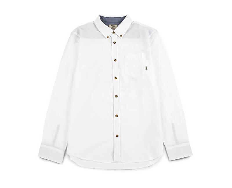 VANS Pánska košeľa Houser Ls White V000MZWHT