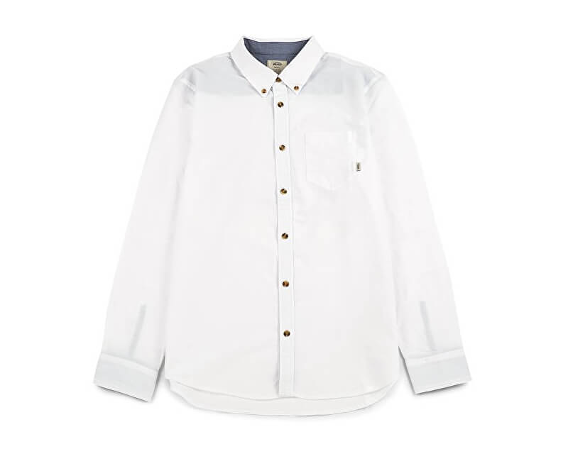 VANS Pánská košile Houser Ls White V000MZWHT