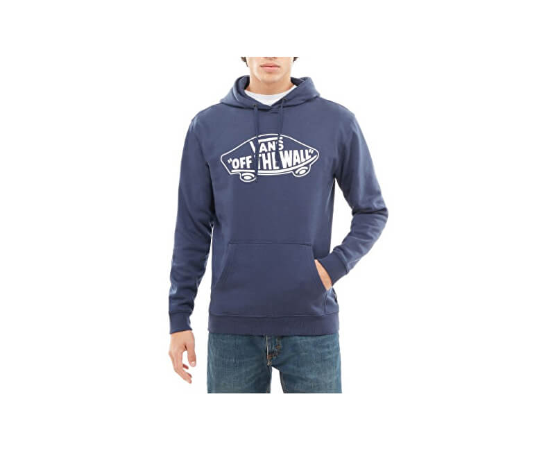 VANS Pánska mikina Otw Pullover Fleece Dress Blue s / White VN000QLH5S21