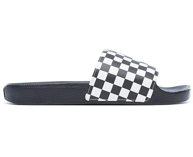 1f1b11e0e5 VANS Pánske šľapky Slide-On Checkerboard White VN0004KIIP91 ...