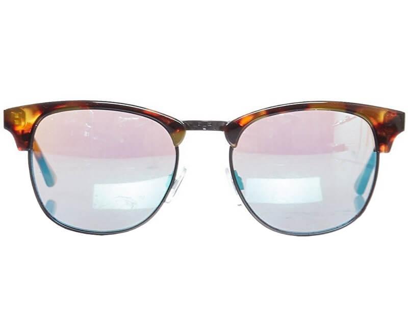 VANS Pánské sluneční brýle Dunville Cheetahtortoise/Turquoise VN0A3HIQTCT1