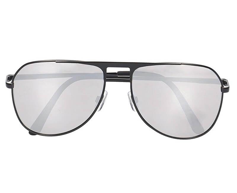 VANS Pánské sluneční brýle Hayko Shades Matte Black/Silver Mirror VN0A3I4MCVQ1