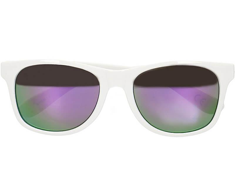 VANS Pánske slnečné okuliare Spicoli 4 Shades White/Lapis Blue VN000LC0TJG1